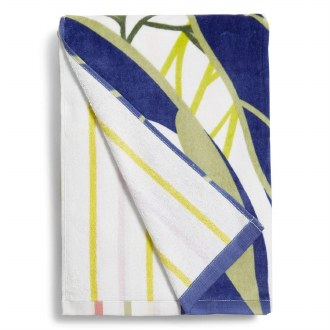 Double Sided Beach Towel Rain Forest Leaves