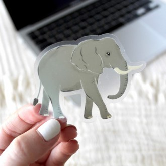 Sticker: Elephant