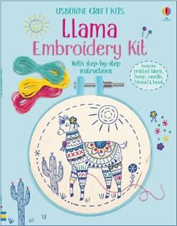 Llama Embroidery Kit