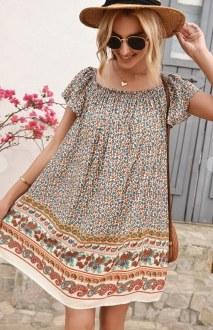 Floral Dress Large