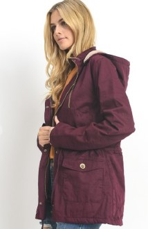 Anorak Jacket with Fur Lining