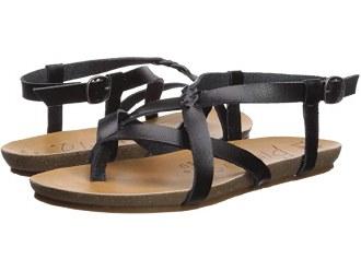 Granola Black Sandals 8.5