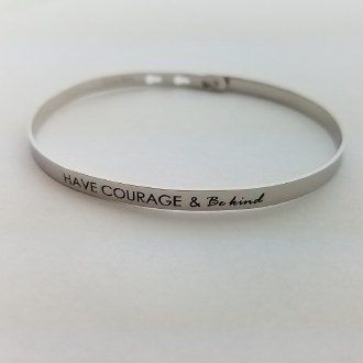 Have Courage & Be Kind (Silver)