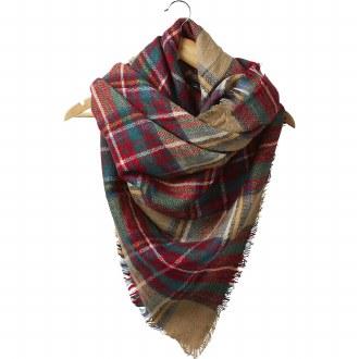 Hazelnut Blanket Scarf