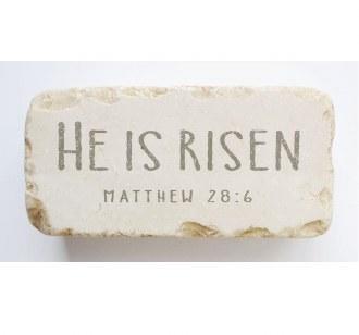 Half Block: Matthew 28:6
