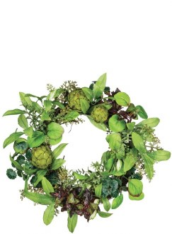 Herb/Berry/Artichoke Wreath