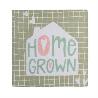 Home Grown Swaddle Blanket