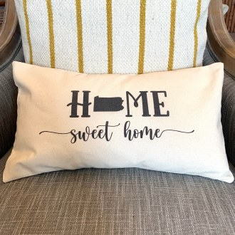 Danville Home Sweet Home Pillow