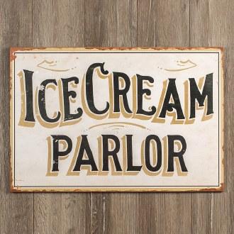 Ice Cream Parlor Sign