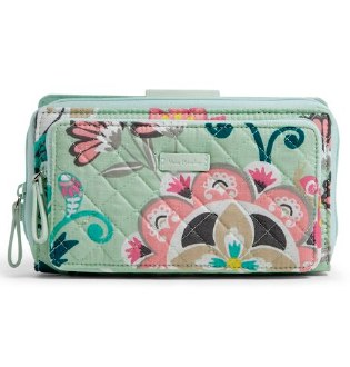 Iconic Deluxe All Together Crossbody Mint Flowers