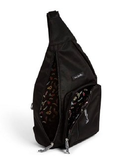 Lighten Up Sling Backpack Black