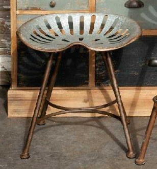 Tractor Seat Short Stool