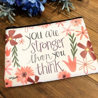 You Are Stronger Than You Think Coin Purse