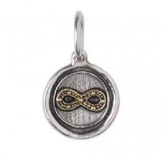 Infinity Love Charm