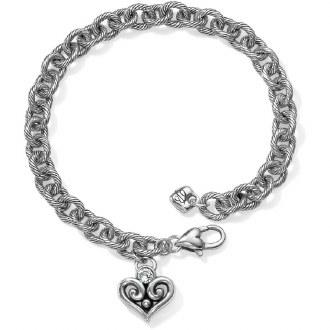 Alcazar Heart Drop Bracelet