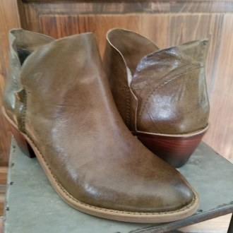 Kettle Olive Bootie