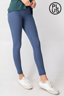 Butter Leggings Code Blue 2X