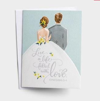 Eph 5:2 Wedding Card