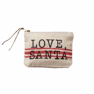 Grainsack Pouch: Love, Santa