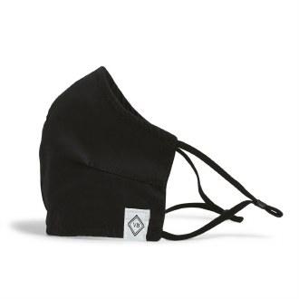Adjustable Fitted Mask: Black