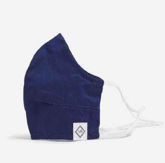 Adjustable Fitted Mask: Hale Blue