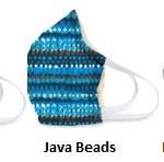 Cotton Face Mask Java Beads