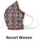 Cotton Face Mask Resort Woven