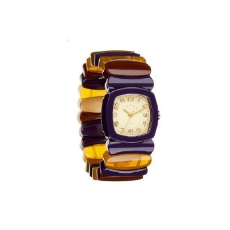 Purple/Tortoise Watch