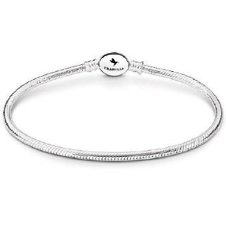 Oval Snap Bracelet 7.9