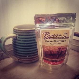 2oz Bason Coffee Pecan Sticky Bun