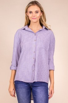 Gingham Button Down Small