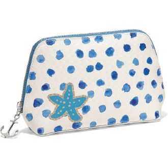 Blue Water Lg Cosmetic Pouch