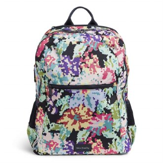 ReActive Grand Backpack: Happy Blooms Cross Stitch