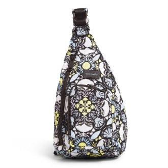 ReActive Mini Sling Backpack: Plaza Medallion