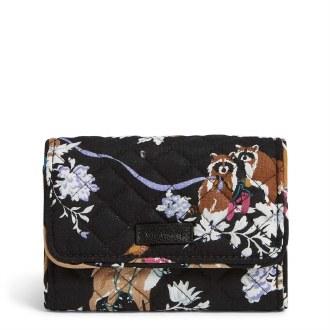 Riley Compact Wallet: Merry Mischief