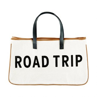 Canvas Tote: Road Trip