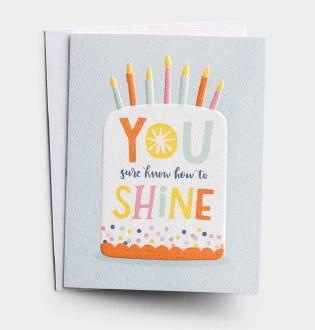 Prov 4:18 Birthday Card