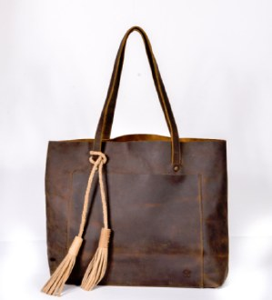 Simple Tote Chocolate Brown
