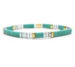 Morse Code Bracelet: Blessed