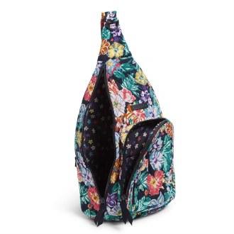 Sling Backpack: Happy Blooms