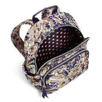 Small Backpack: Tangier Paisley