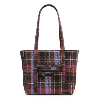 Small Vera Tote Cozy Plaid