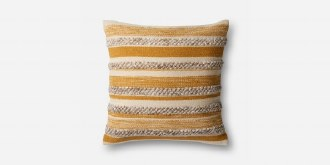 Gold/Ivory Pillow