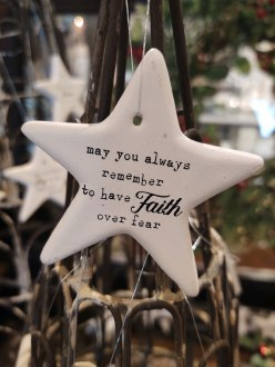 Star Ornament Faith