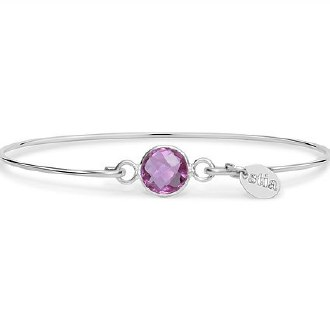 Silver October Birthstone Bracelet
