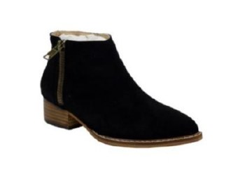 Daisy Suede Black Boot 6