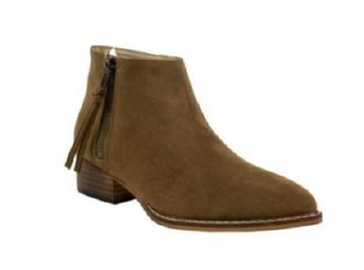 Daisy Suede Whiskey  Boot 5.5