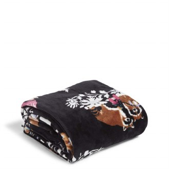 Plush Throw Blanket: Merry Mischief