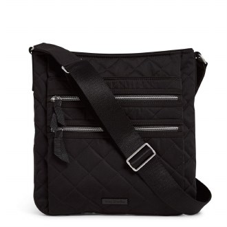 Iconic Triple Zip Hipster: Black