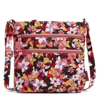Triple Zip Hipster: Rosa Floral